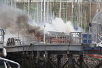 Crosshaven Boatyard Fire April 30, 2010